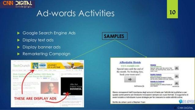 Digital Marketing Proposal Google Adwords Seo Website Design