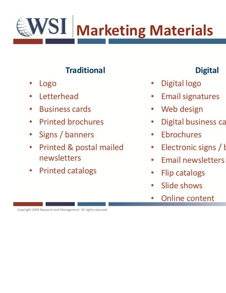 Digital marketing revolution for Digital marketing materials
