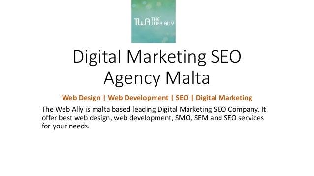 Digital Marketing Seo Web Design Web Development Company Malta