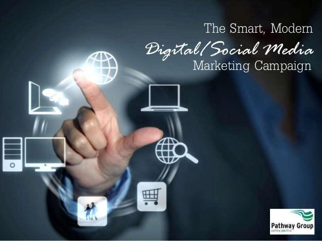 The Smart, Modern Digital/Social Media Marketing Campaign