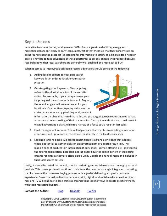 Digital Marketing Strategic Roadmap