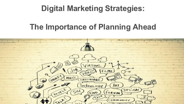importance of marketing plans A small-business owner creates a marketing plan in order to set the strategic direction for his business -- the target markets he intends to concentrate on and the strategies he will use to convert prospects into customers the plan is more than an outline of strategies forecasts are the heart.