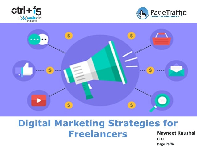Navneet Kaushal CEO PageTraffic Digital Marketing Strategies for Freelancers