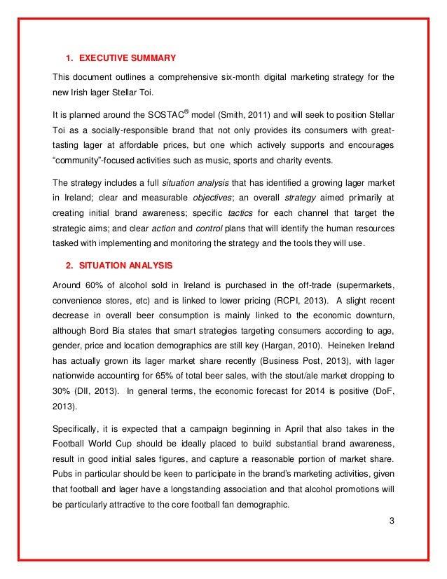 heineken marketing plan Bienvenido al sitio web oficial de heineken® descubre nuestra historia explora nuestros productos y recuerda los mejores momentos de la uefa champions league.