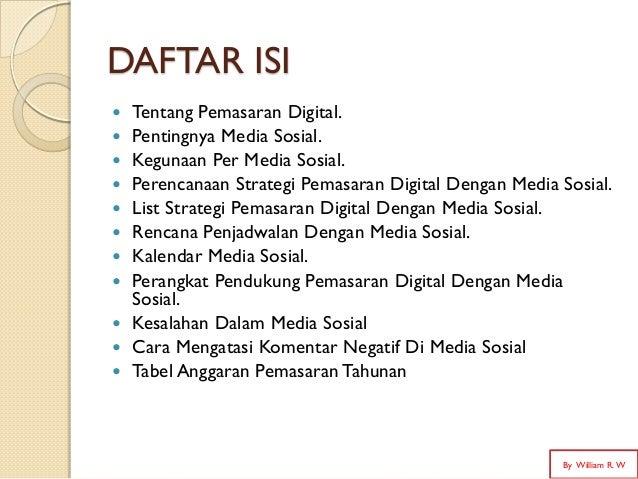 Digital marketing strategy with social media Slide 2