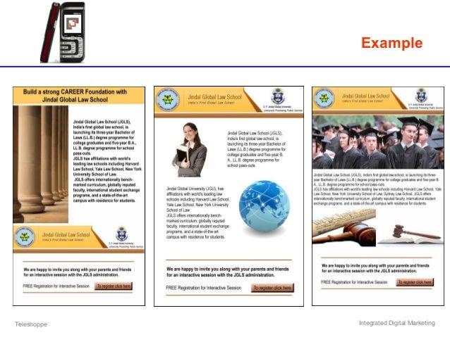 Teleshoppe Integrated Digital Marketing Example