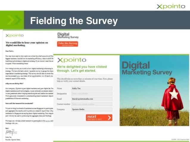 Fielding the Survey