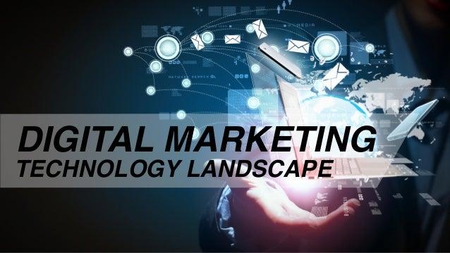 DIGITAL MARKETING TECHNOLOGY LANDSCAPE