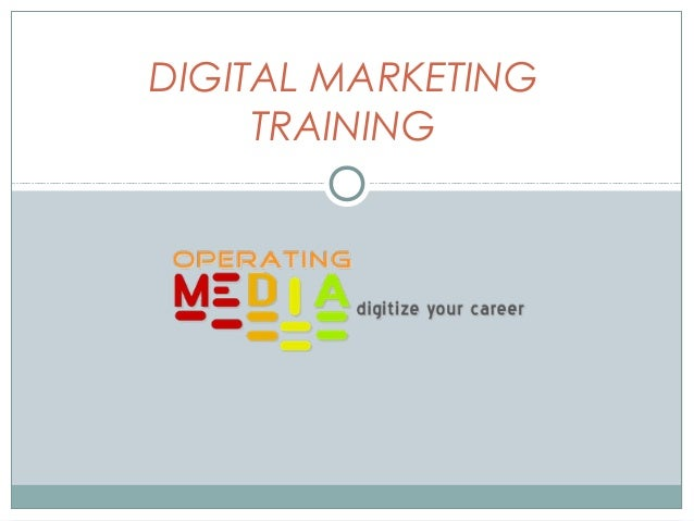DIGITAL MARKETINGTRAINING