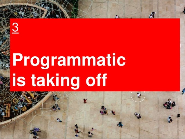 15 3 Programmatic is taking off