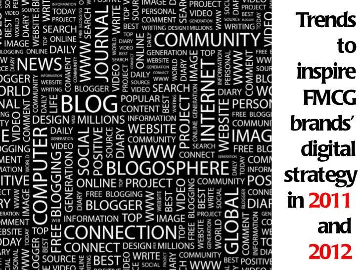 Digital marketing trends for FMCGs