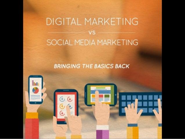 DIGITAL MARKET| NG  vs SOCIAL MEDIA MARKETING  BRINGING THE BASICS BACK
