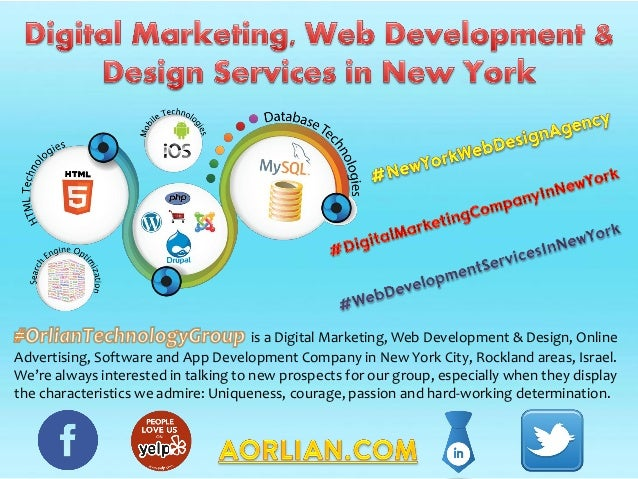 is a Digital Marketing, Web Development & Design, Online Advertising, Software and App Development Company in New York Cit...