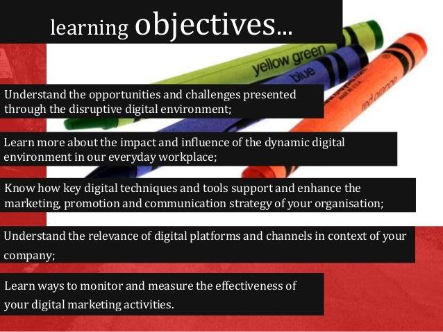 Digital marketing workshop Slide 2