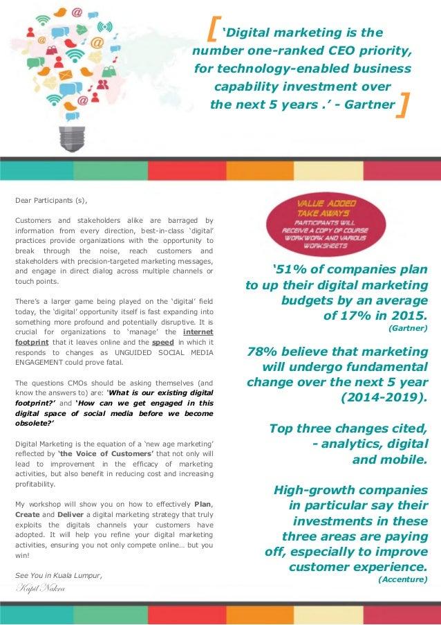 Digital Marketing Workshop In Malaysia Slide 2