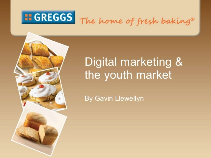 Digital marketing & the youth market By Gavin Llewellyn