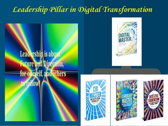 Practice Visionary Digital Leadership Leadership is about future and direction, for oneself, and others to follow!