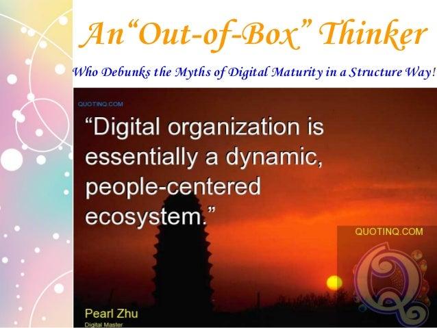 """Digital Master Debunk the Myths of Enterprise Digital Maturity """"Digital means flow: data flow, information flow, knowledge..."""