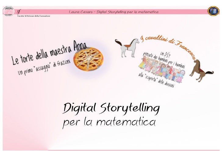 Digitalstorytelling for math