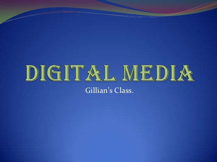 Gillians Class.