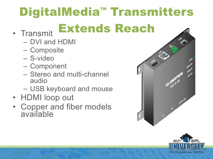 Digital Media Presented by Crestron
