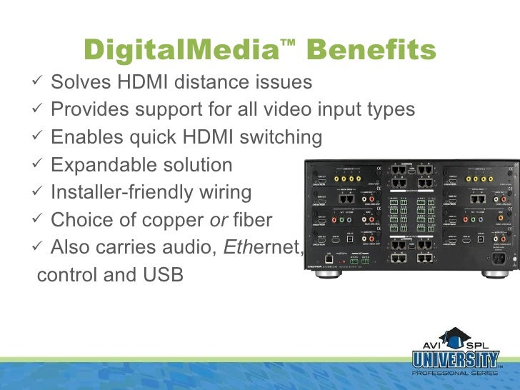 Digital Media Presented by Crestron