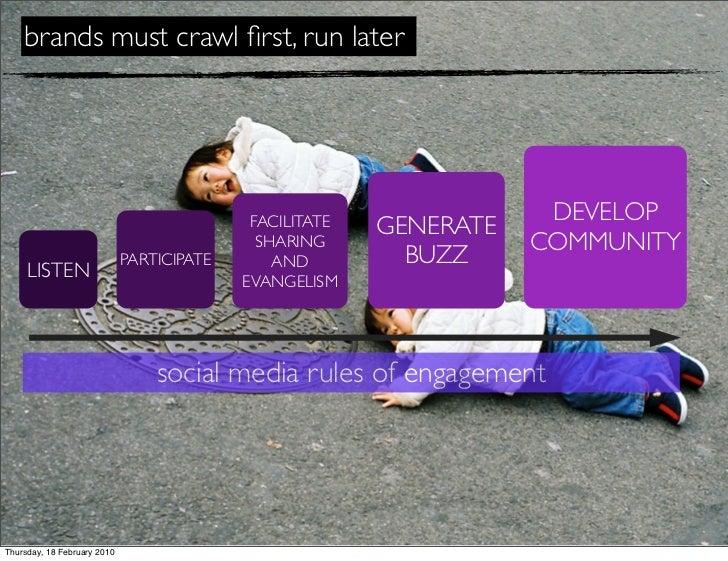 brands must crawl first, run later                                                                          DEVELOP        ...