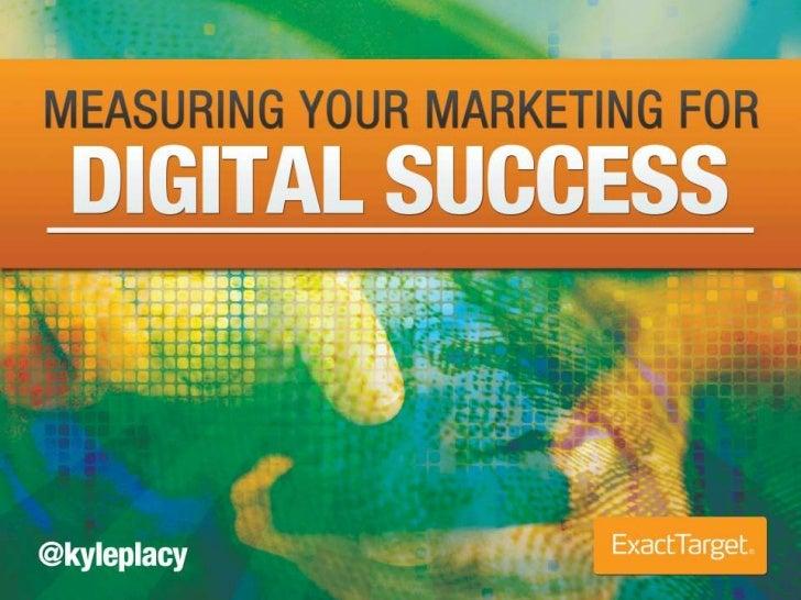 Measuring Digital Marketing for Succes