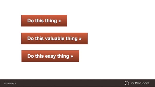 @crestodina What's missing from your website? ...unsatisfying ...weak ...not compelling