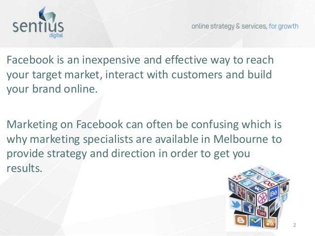 Facebook Marketing Specialist Melbourne