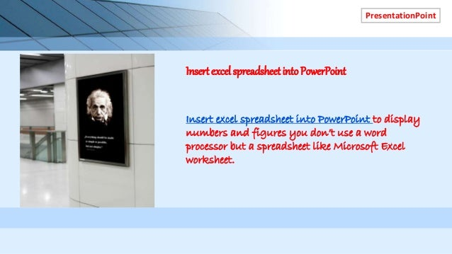 Download free powerpoint template digital menu boards restaurants 5 presentationpoint insert excel spreadsheet into powerpoint to display numbers toneelgroepblik Choice Image