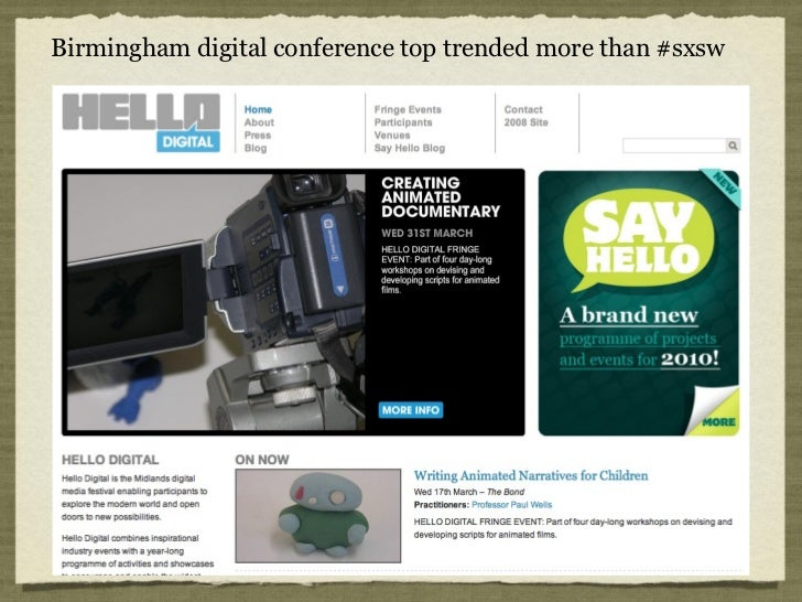 Birmingham digital conference top trended more than #sxsw