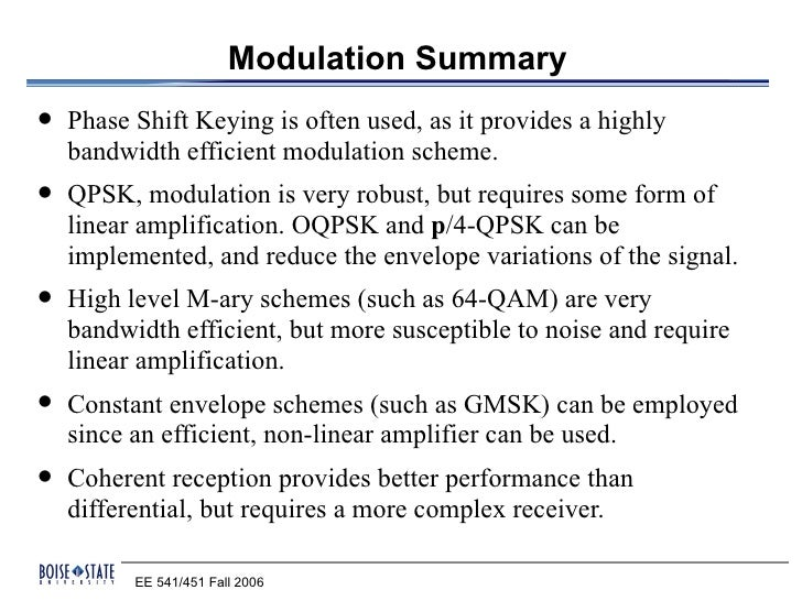 comparative of digital modulation techniques This paper is the comparative study of digital modulation techniques that can be used in ofdm which is core part of wimax model utcome of this study, and the the o.