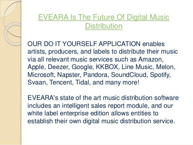 White Label Digital Music Distribution - Trovoadasonhos