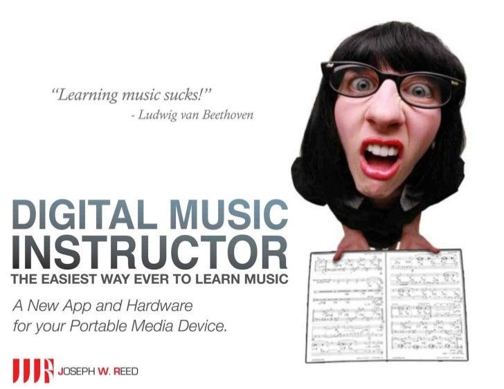 Digital Music Instructor - Joseph W Reed