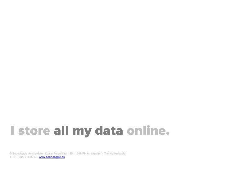 Digital native for Dutch Government Voorlichtingsraad (VoRa) Slide 19