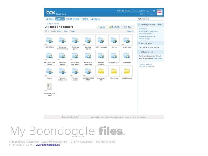 Digital native for Dutch Government Voorlichtingsraad (VoRa) Slide 20