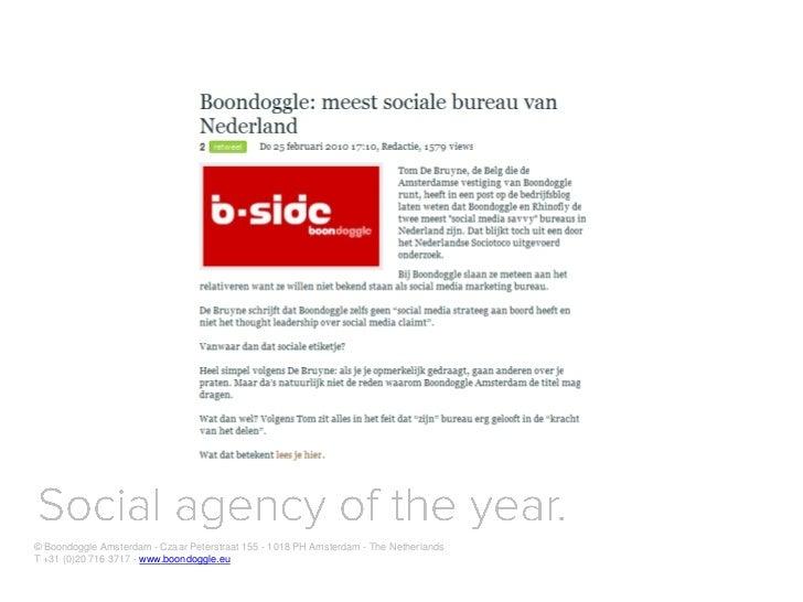 Digital native for Dutch Government Voorlichtingsraad (VoRa)