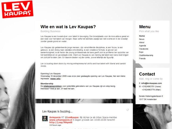 Digital native for Dutch Government Voorlichtingsraad (VoRa) Slide 7