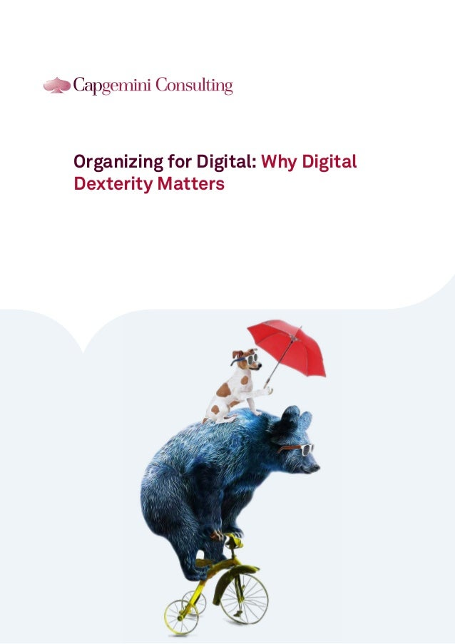 Organizing for Digital: Why Digital Dexterity Matters