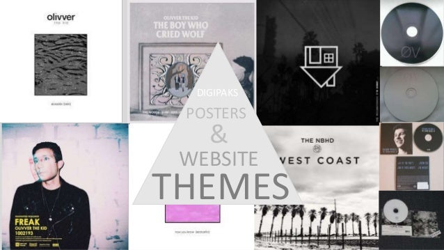 WEBSITE DIGIPAKS POSTERS & THEMES