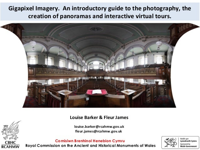 Gigapixel Imagery. An introductory guide to the photography, the creation of panoramas and interactive virtual tours. Comi...