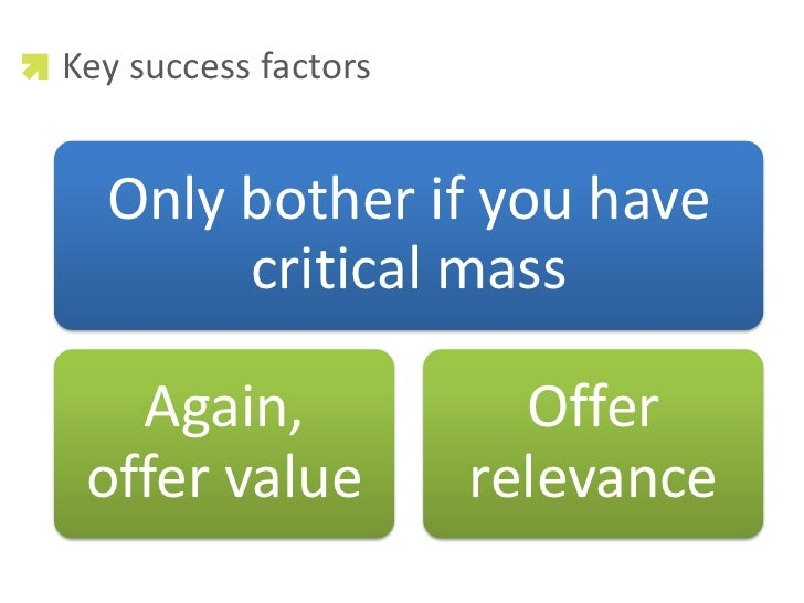 Critical success factors influencing safety program
