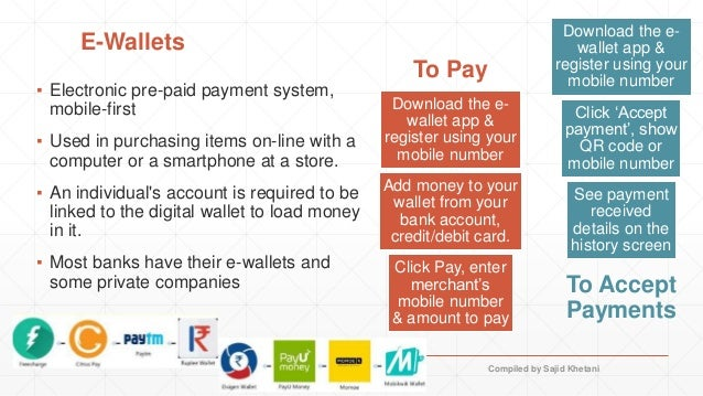 Digital payments - India perspective