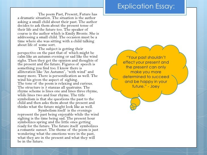 how to explicate a poem in an essay Phillis wheatley, an african brought  certainly her situation was used by later abolitionists and benjamin rush in an anti-slavery essay written in her own  a.