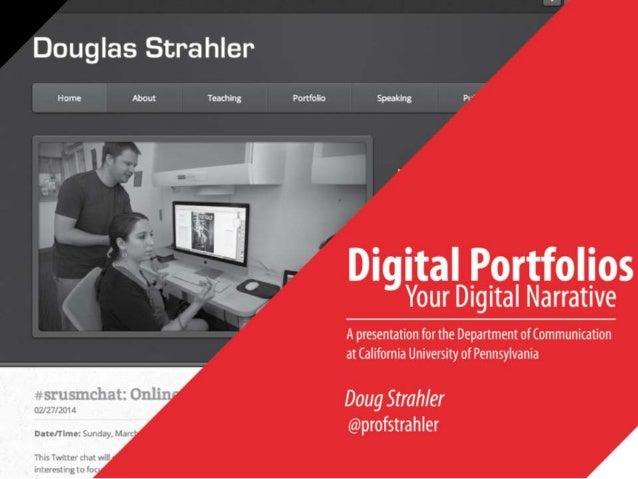 Digital Portfolios Your Digital Narrative