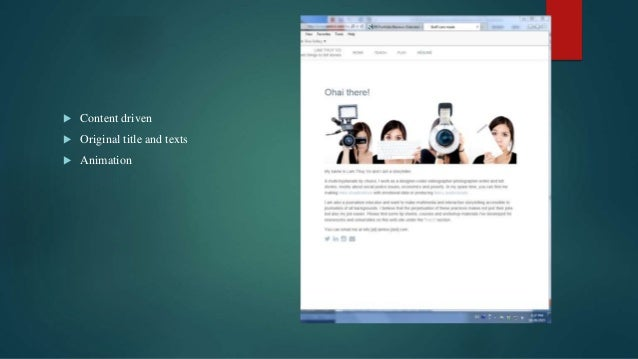 Digital Portfolio 1 Overview And Examples