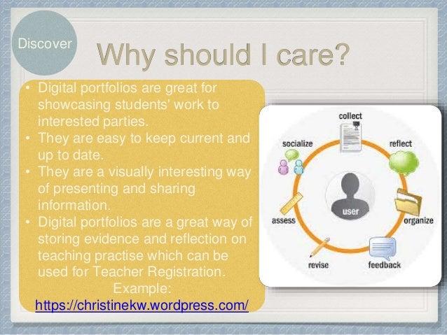 How to create a digital portfolio slideshare - 웹