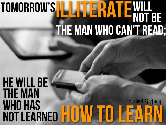 Changed? Learning Has