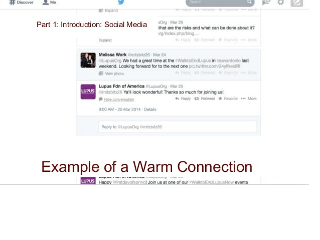Part 1: Social MediaPart 1: Introduction: Social Media Educating your prospects